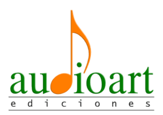 Audioart Ediciones. Materiales para el Aula de Música